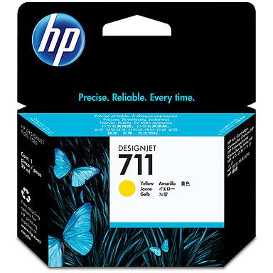 HP 711 Ink Cartridge Geel