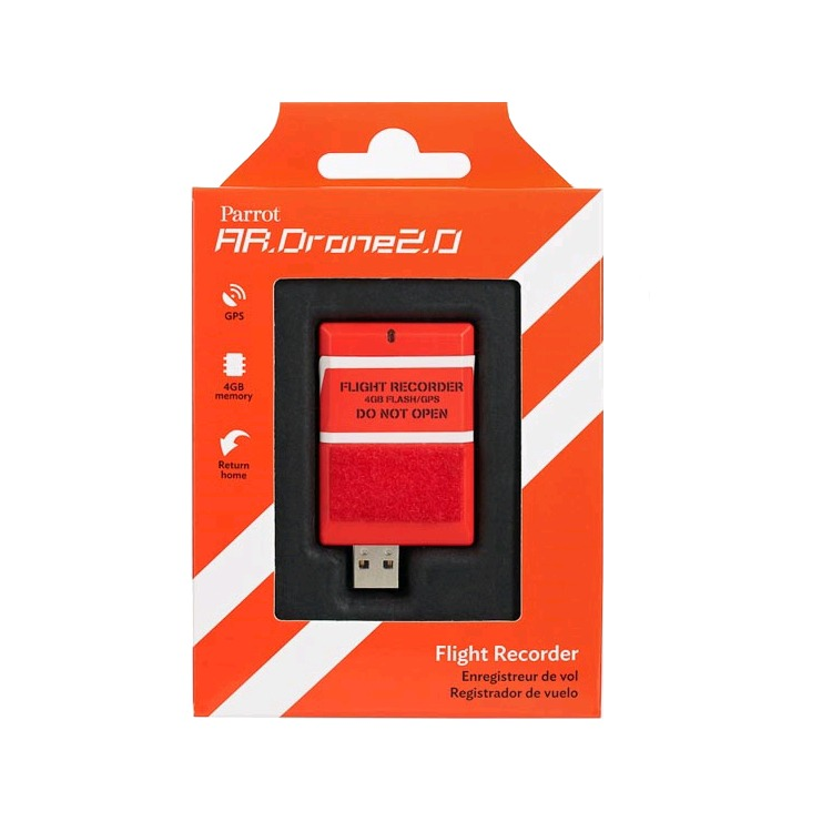 Parrot Drone 2 GPS Flight Recorder