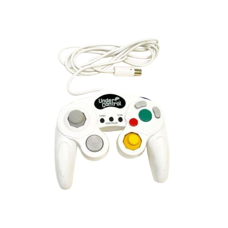 Under Control Gamecube  Controller White