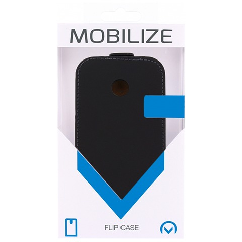 Mobilize Ultra Slim Flip Case Huawei Ascend Y330 Zwart