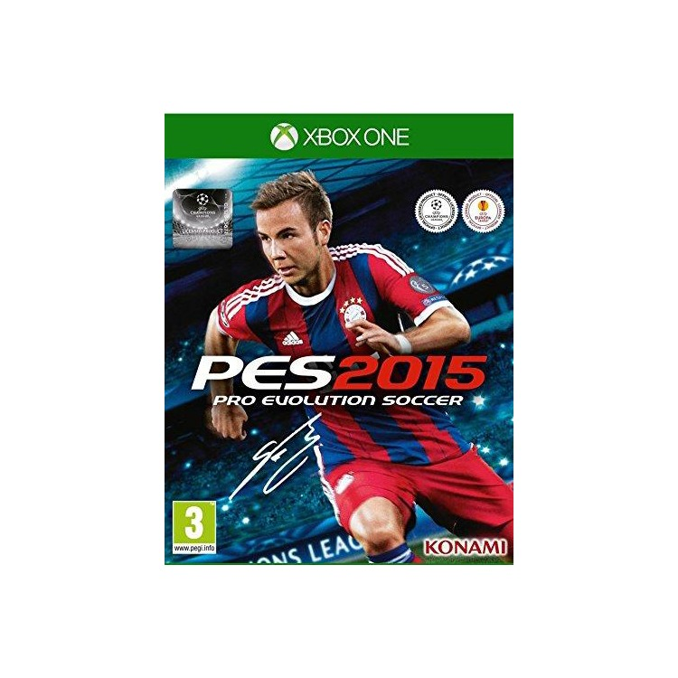 Pro Evolution Soccer 2015 Xbox One