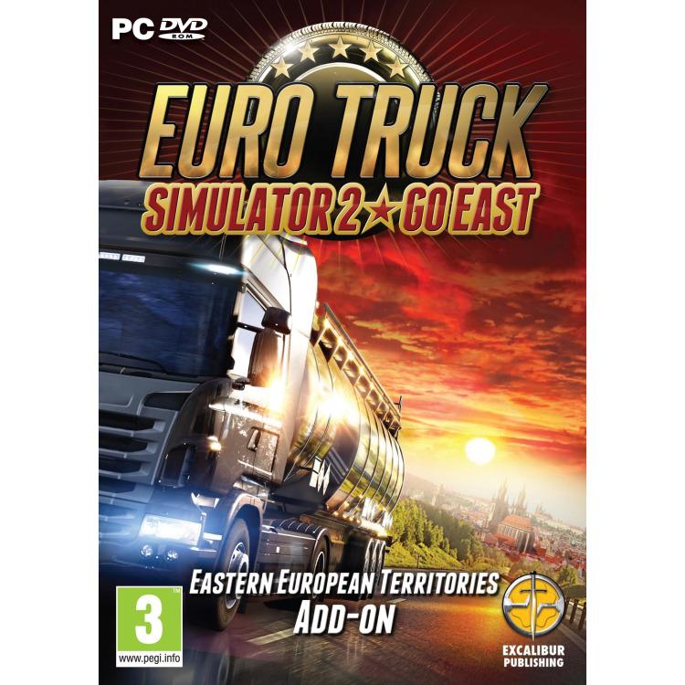 PC DVD Euro Truck Simulator 2 Go East Add-on
