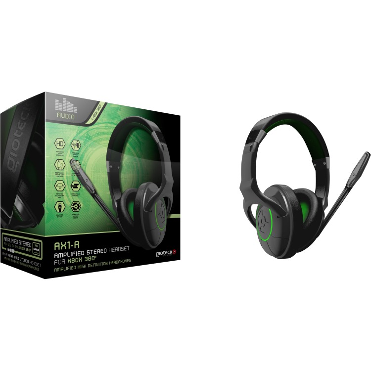 Xbox 360 Gioteck AX1-R stereo gaming headset