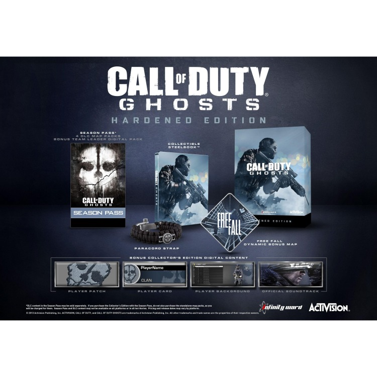 Image of Activision Call of Duty, Ghosts (Hardened Edition) PS3