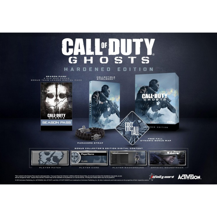 Xbox 360 Call of Duty: Ghosts Hardened Edition