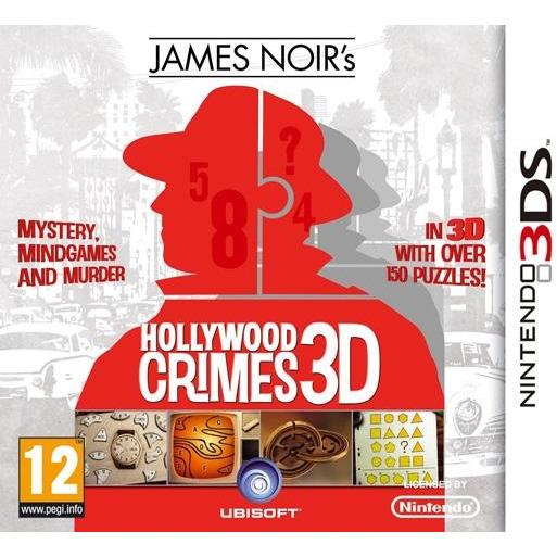 James Noir's, Hollywood Crimes 3D  3DS