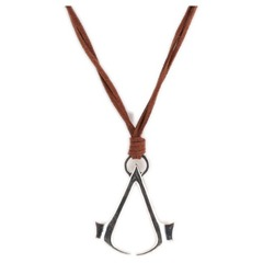Image of Assassin's Creed - Necklace With Logo (Brown)