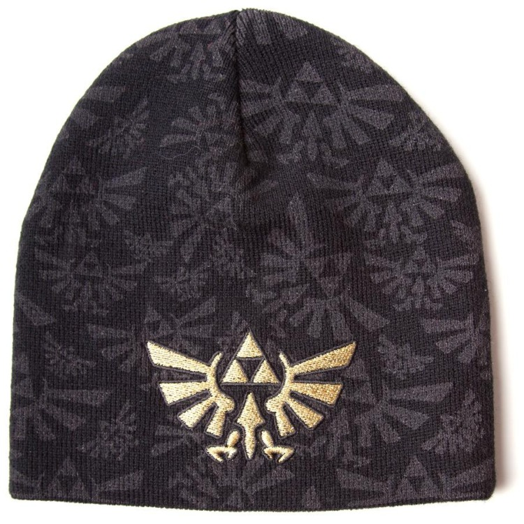 Nintendo Zelda Embroided Beanie (Black)