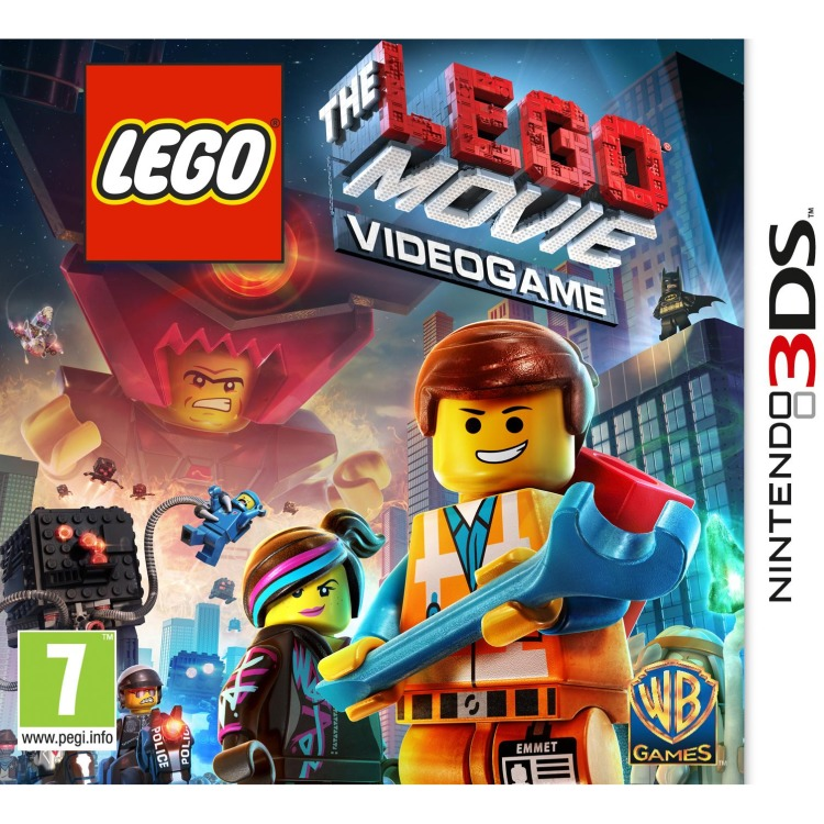 3DS LEGO Movie Videogame