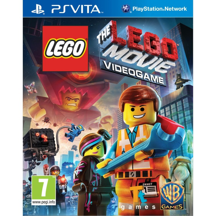PS VITA Game LEGO Movie