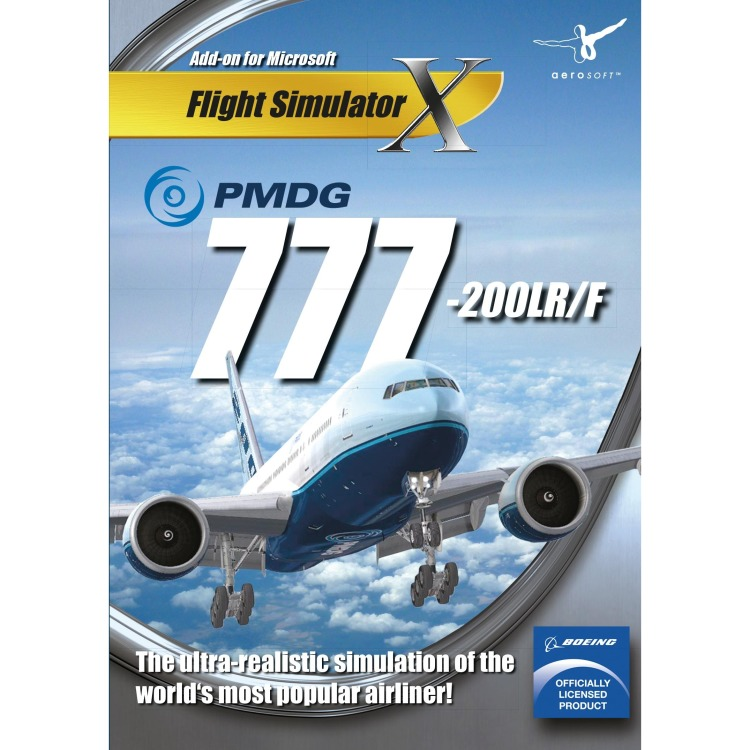 Image of Aerosoft Game PMDG 777-200LR/F FS X Add-On PC