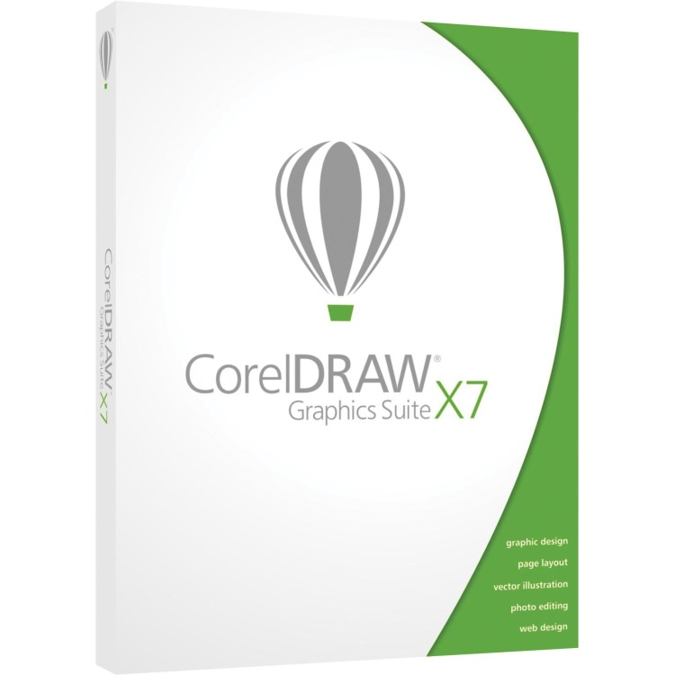 CorelDRAW Graphics Suite X7 Upgrade EN