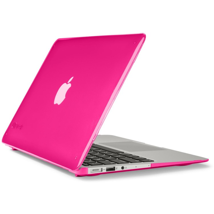 Speck SeeThru Cover voor MacBook Air - Laptop Sleeve / 11inch / Roze