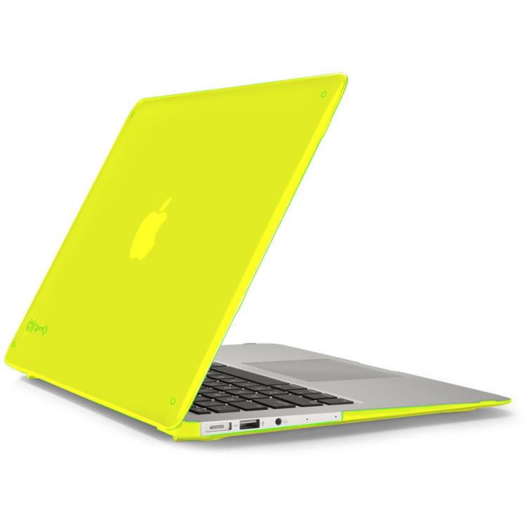 Macbook Air 13 Inch Seethru Lightning Yellow Speck macbook accessoires ...