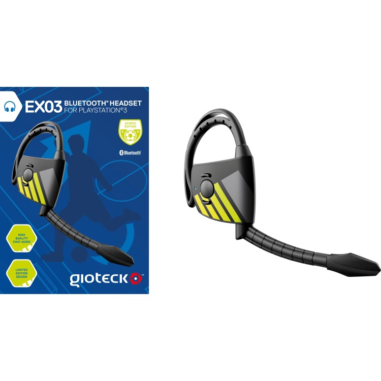 Gioteck Gioteck, EX-03 Bluetooth Headset (Sport Edition) PS3 (EX3PS3-14-MU)