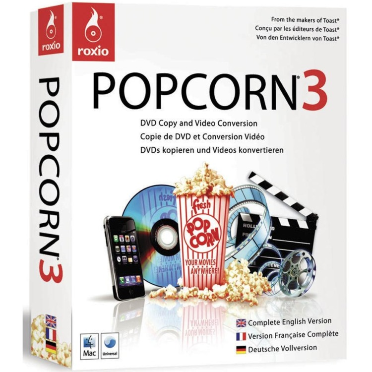Roxio Popcorn 3