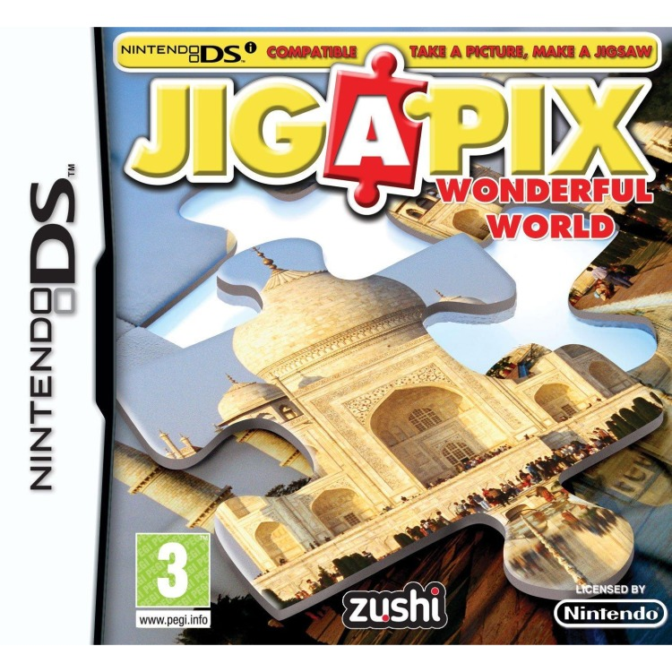Jiga Pix, Wonderful World Dsi-Nds