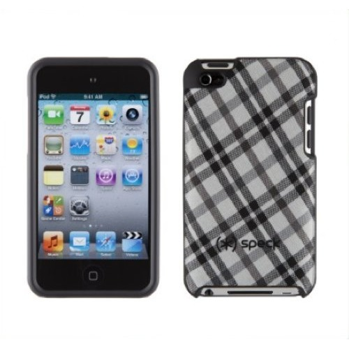 Speck iPod Touch 4 Fitted - Tartanplaid Wit
