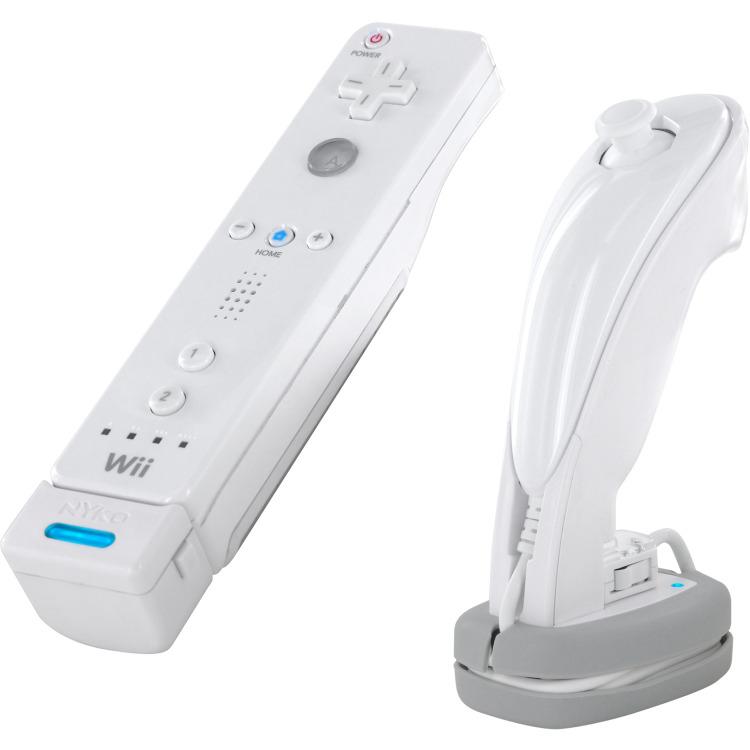 Nyko Wireless Oplader Wit Wii