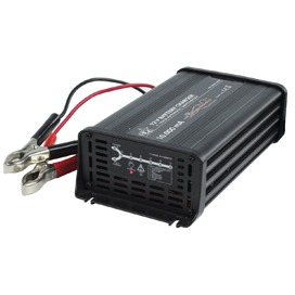HQ, 7-Traps Automatische 12V 10 A Batterijlader