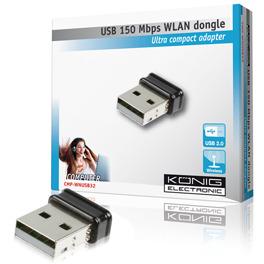 König - Draadloze USB 2.0 Netwerkadapter 150 Mbps