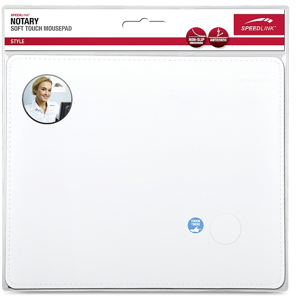 Notary Soft Touch Mousepad Wit