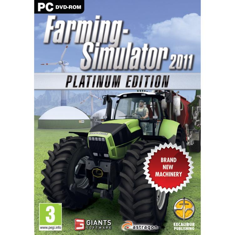 PC DVD Farming Simulator 2011: Platinum Edition
