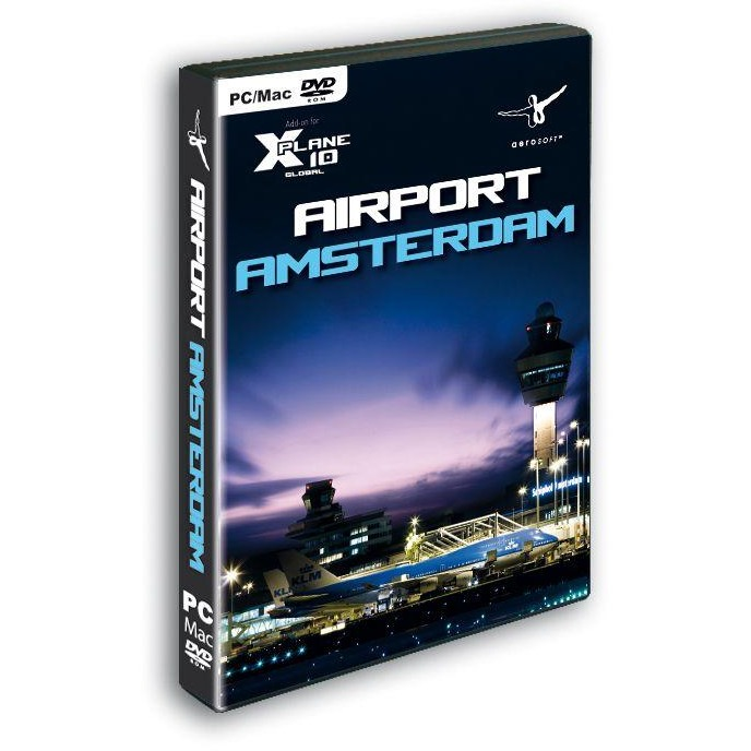 Image of Aerosoft Amsterdam Schiphol (X-Plane Add-On) PC