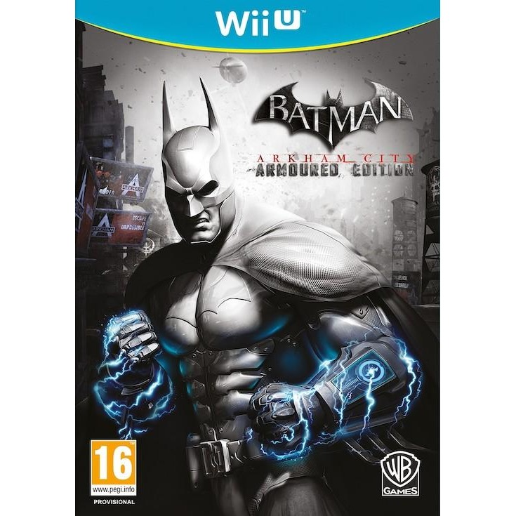 Game, Wii U, Batman, Arkham City (Armoured Edition)