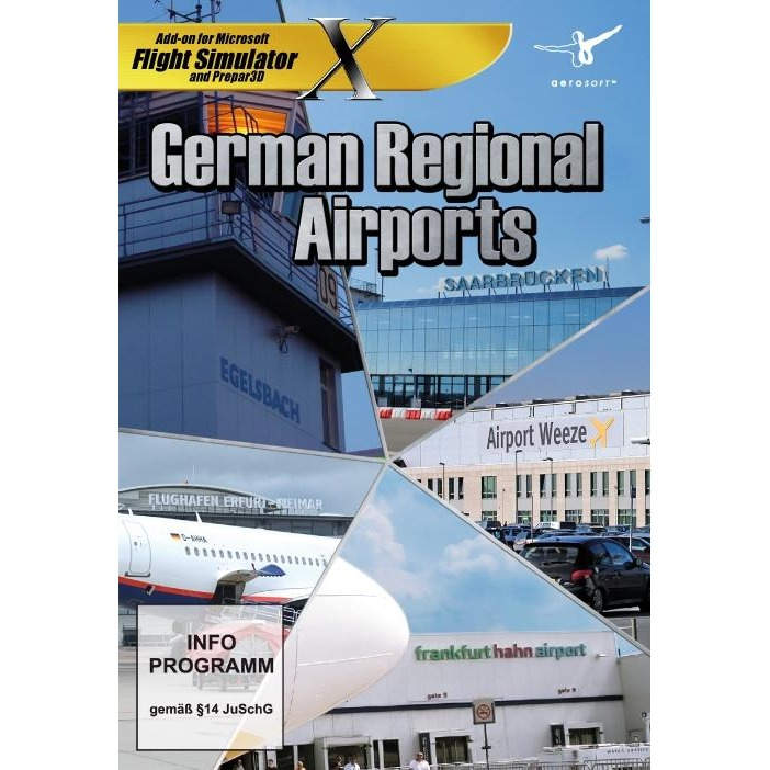 Image of Aerosoft German Regional Airports (FS X Add-On) PC