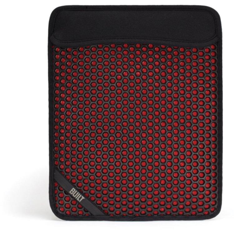 MX slim sleeve iPad zwart rood