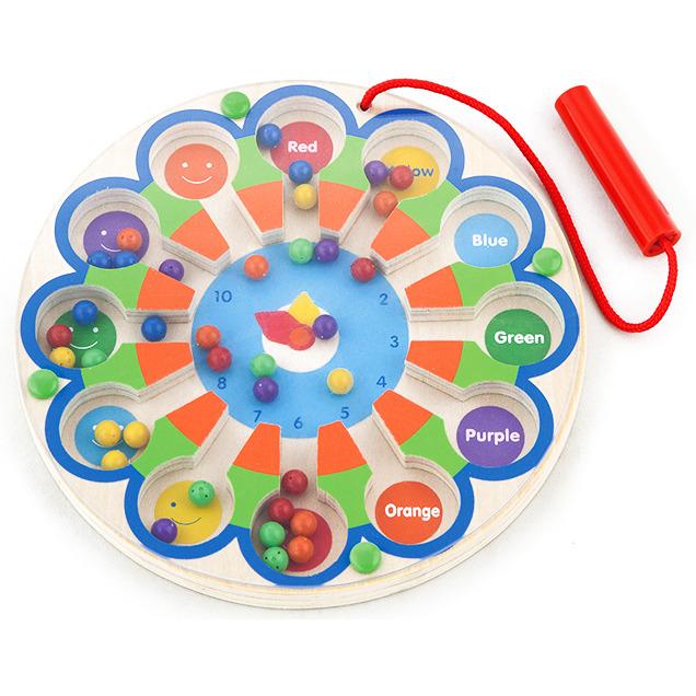 Image of Klokspel magnetisch New Classic Toys 18x18x1 cm