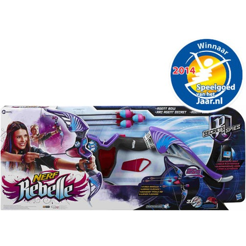 Nerf Rebelle Secret Agent Bow