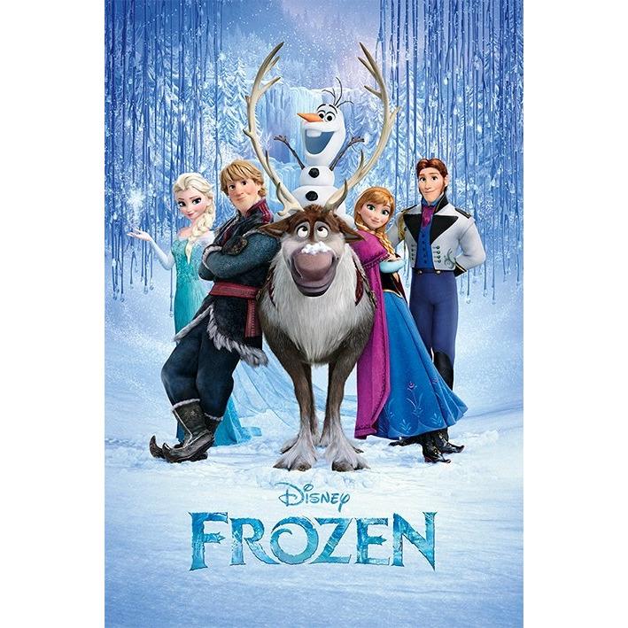 Frozen Poster 61x92 Cm