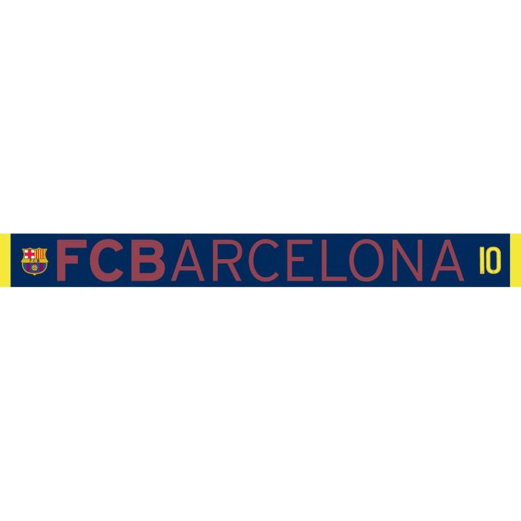 Barcelona Sjaal blauw