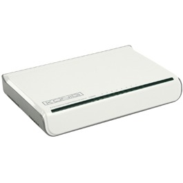 Konig, 8 Poorten Ethernet Switch 10 /100 / 1000 Mbps