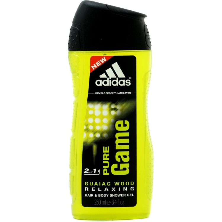 Adidas Pure Game Hair en Body Showergel 2in1 250ml