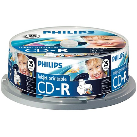 Philips CD-R 80 minuten/700Mb