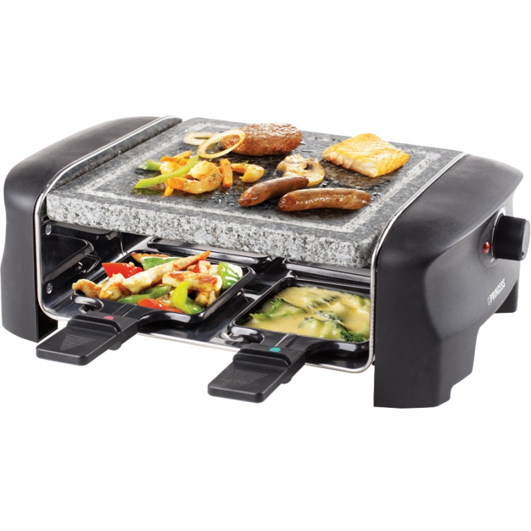 Princess Raclette 4 Stone Grill Party steengrill