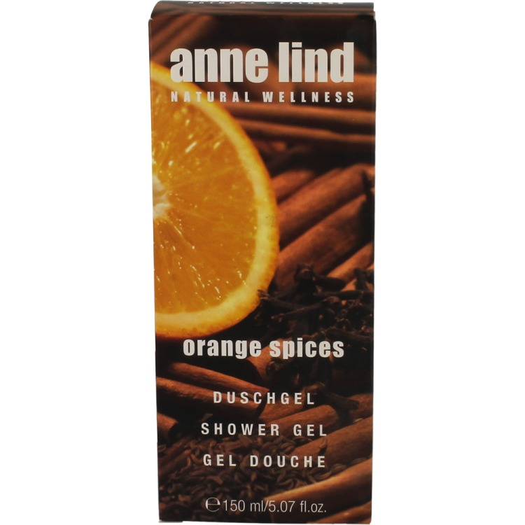 Image of Anne Lind Douchegel Orange Spices, 150 Ml
