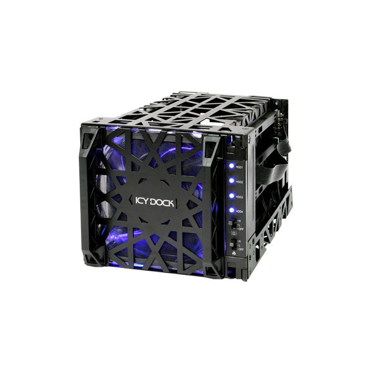 Icydock Mb074sp-1b Black Vortex Bk