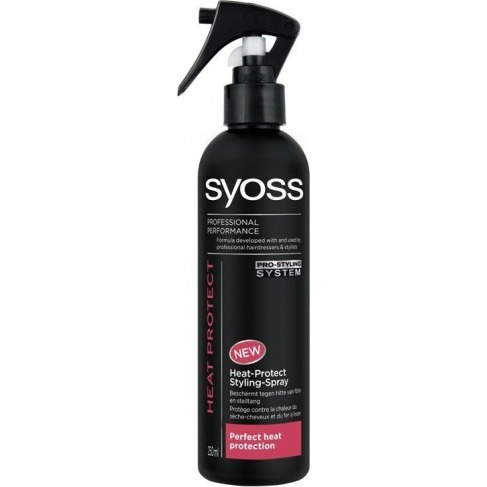 SYOSS Styling Heat Protect - 250 ml - Spray