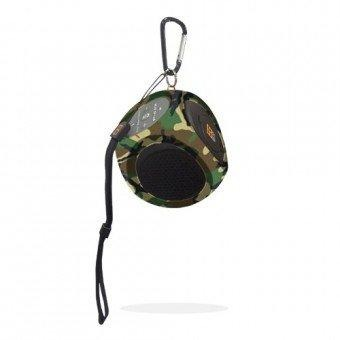Image of Bear Grylls, Explorer I - Bluetooth Speaker For Outdoor Adventures (Woodland Camo)
