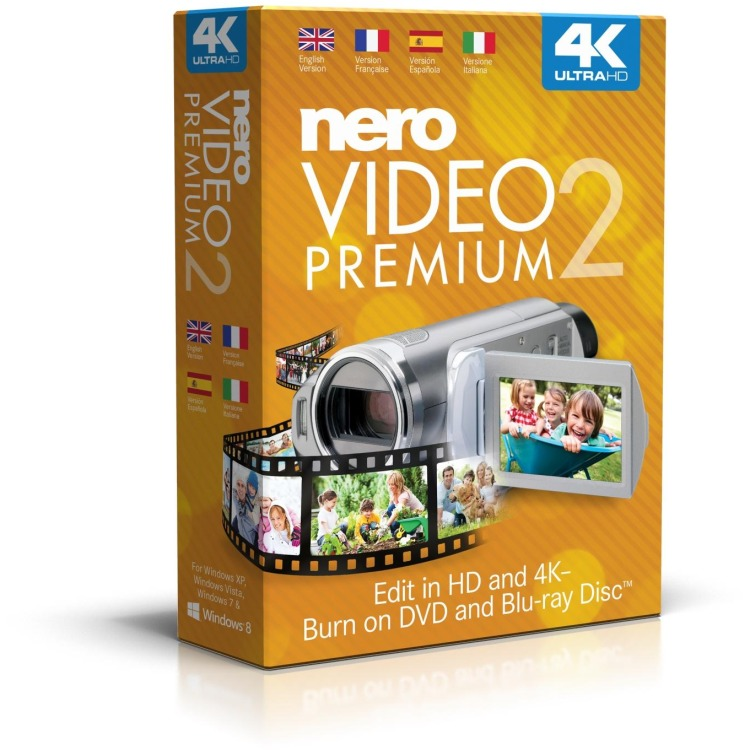 Nero Video Premium 2 - Engels/ Windows