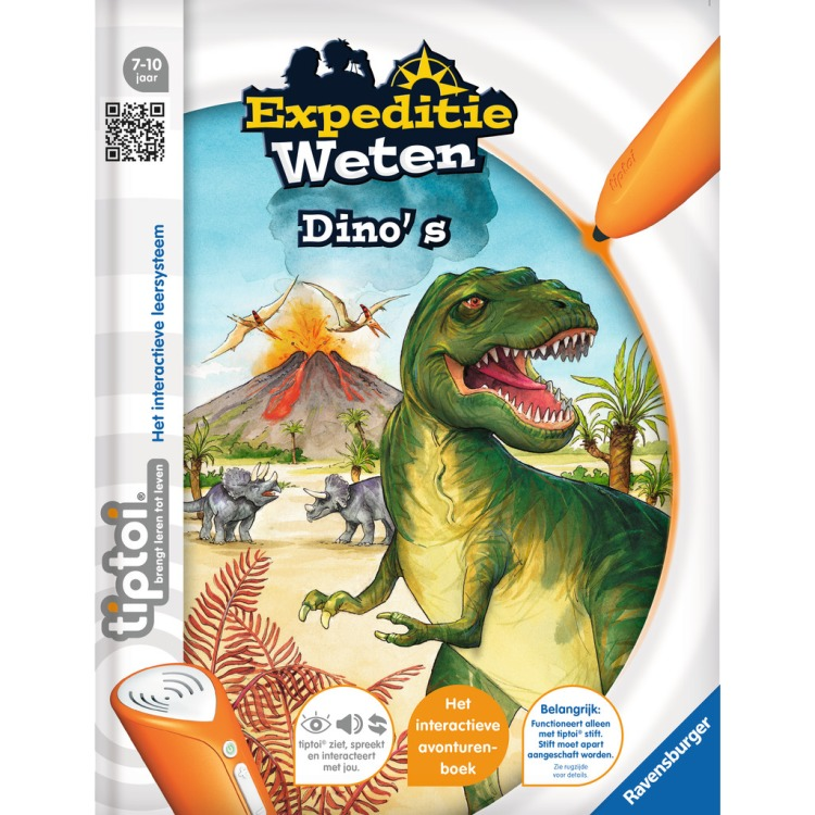 Tiptoi Expeditie weten: Dino's