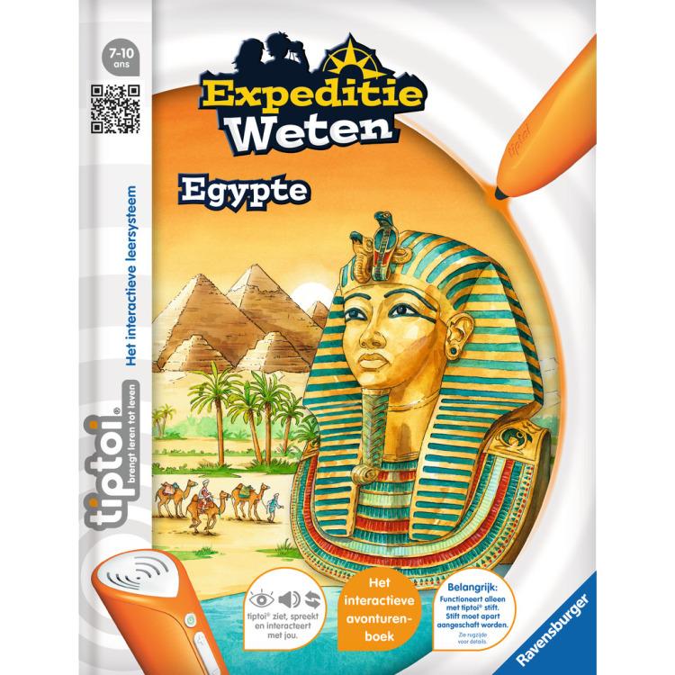 Tiptoi Expeditie weten: Egypte