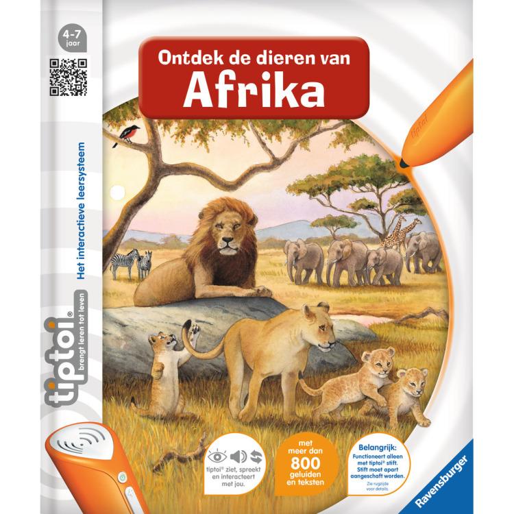 tiptoi Ontdek de dieren in Afrika