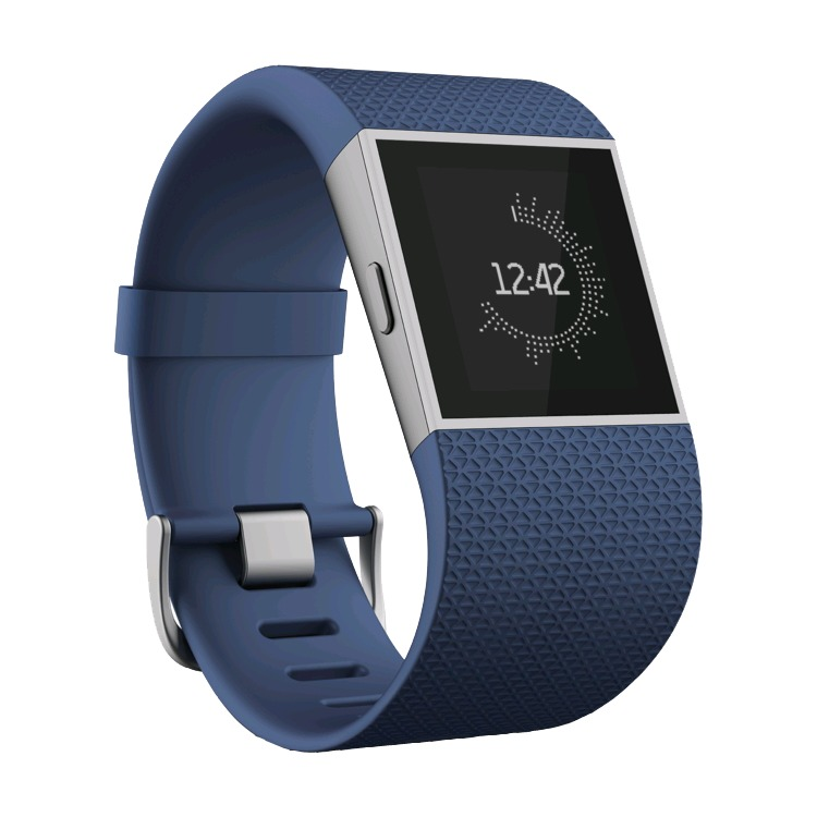 Fitbit Surge activiteitstracker - blauw - small