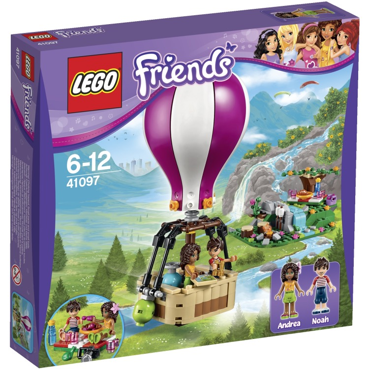 LEGO Friends Heartlake luchtballon 41097