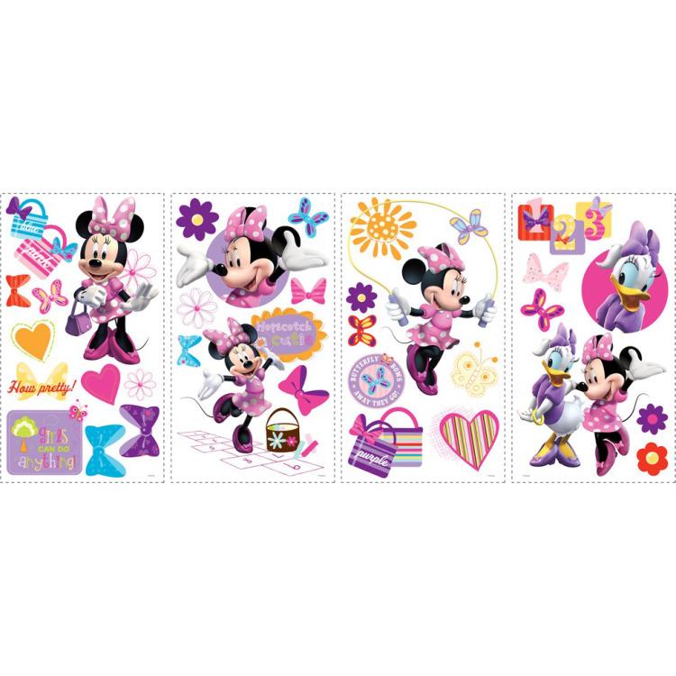 Disney RoomMates Muursticker Minnie Mouse - Multi
